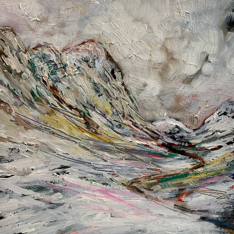 'Glencoe in the Snow'