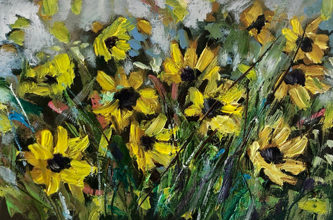 'Tuscan Sunflowers'