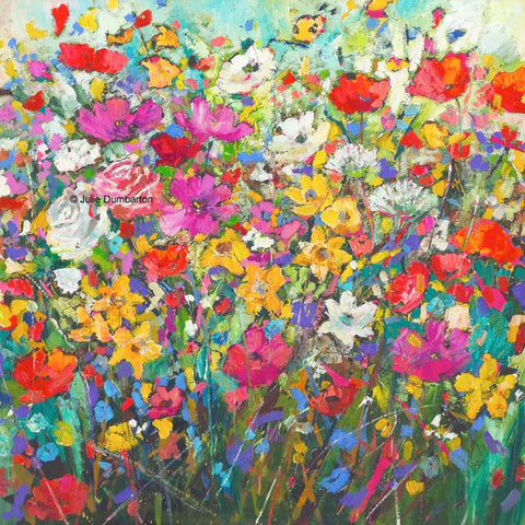 'Natures Bouquet' Print Hand Signed By Julie
