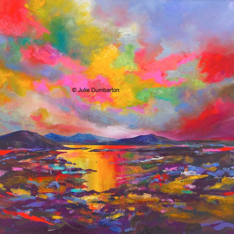 'Rainbow Sea' Print Hand Signed By Julie