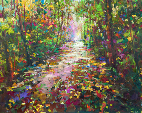 'River Light' Jumbo Print Hand Signed By Julie