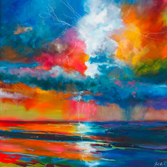 'Storm Passing' Print Hand Signed By Julie