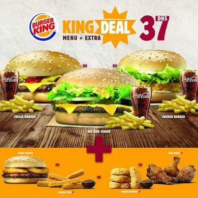 King Deal - Cheese Burger