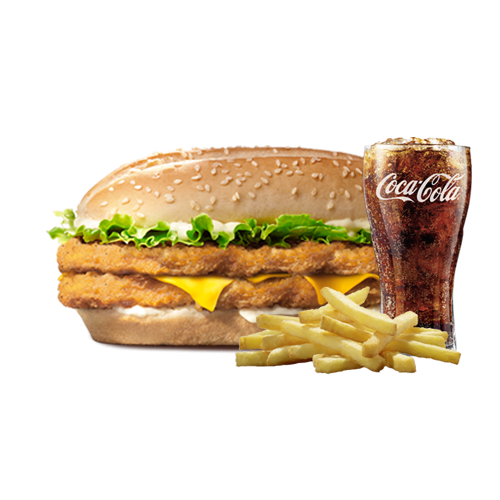 Menu Double Chicken Royal