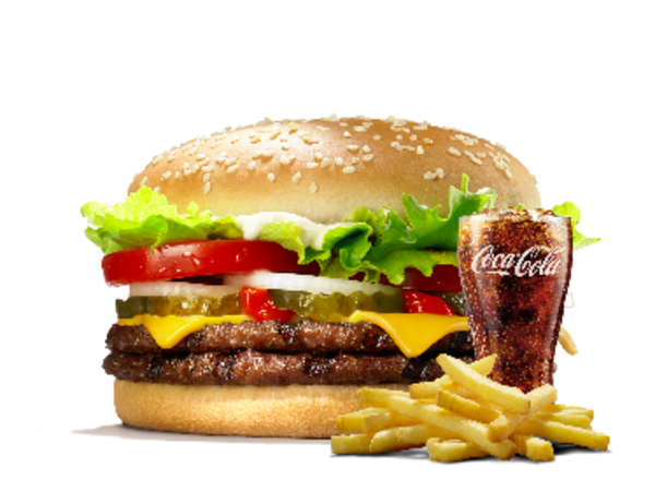 Menu Double Whopper Cheese