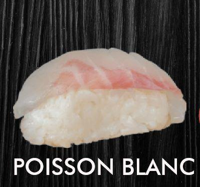 POISSON BLANC 2 Pcs
