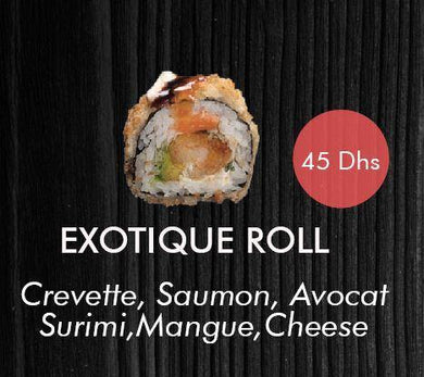 EXOTIQUE ROLL 4 Pcs