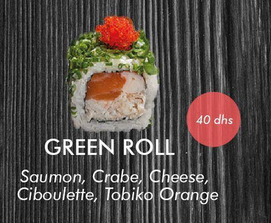 GREEN ROLL 4 Pcs