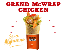 Charger l'image dans la galerie, GRAND MC WRAP CHICKEN