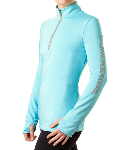 The Half-Zip Heart ♥ Warmer, a Performance Pullover