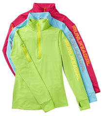 YOUTH Half-Zip Heart Warmer  ♥ A Performance Pullover