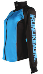 Sky Blue Performance Track Jacket