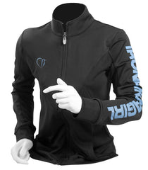 Black Performance Track Jacket