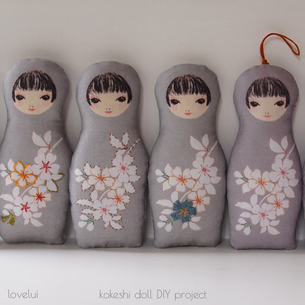lovelui kokeshi doll instructions