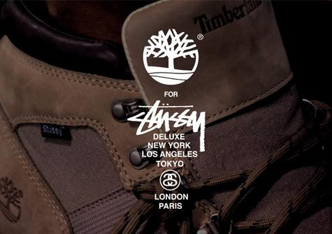 Timberland For Stussy Deluxe Nm Field Boot