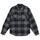 Max Plaid Quilted Shirt - Grey
