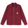 Full Zip LS Work Shirt - Burgundy