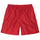 Jacquard Nylon Short - Red