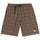 Plaid Mountain Short - Black