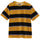 Velour Stripe Shirt - Mustard