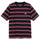 Harbour Stripe Crew - Black