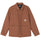 Quilted Chore Coat - Brown