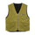 Wide Wale Reversible Vest - Green