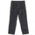 Solid Linen Work Pant - Charcoal