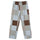 Patchwork Beach Pant - Multi