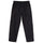 Solid Taped Seam Cargo Pant - Black