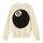 8 Ball Heavy Brushed Mohair Sweater - Cream