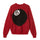 8 Ball Heavy Brushed Mohair Sweater - Red