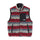 Striped Sherpa Vest - Multi