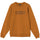 3D Collegiate Embroidered Crew - Caramel