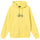 Copyright Stock Embroidered Hoodie - Lemon