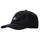 Bent Crown Fitted Low Cap - Black