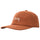 Textured Linen Low Pro Cap - Burnt Orange