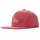Stock Pigment Strapback Cap - Red