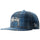 Stock Harris Tweed New Era Cap - Blue