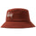 Big Logo Twill Bucket Hat - Rust
