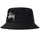 Big Stock Logo Bucket Hat - BLACK
