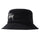 Big Logo Canvas Bucket Hat - Black