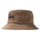 Big Logo Canvas Bucket Hat - Brown
