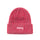 2 Tone Knit Short Beanie - Red