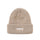2 Tone Knit Short Beanie - Tan