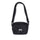 Diamond Ripstop Shoulder Bag - BLACK
