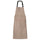 Nylon Convertible Apron Dress - Taupe