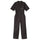 One Piece Work Suit - Black