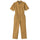 One Piece Work Suit - Mustard