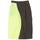 Nylon Curve Skirt - Neon Yellow